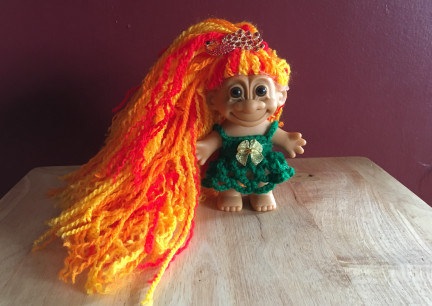 Firebird Troll Doll 2019-03-07
