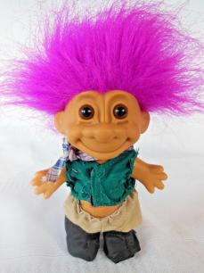 Troll 4.5 Inch Purple Hair