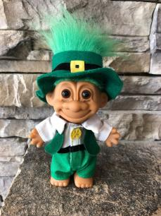 Troll Doll 4.5 Inch St Patricks Day