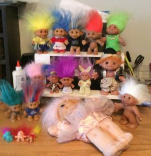 Troll Doll Lot Won Auction 2019-02-11
