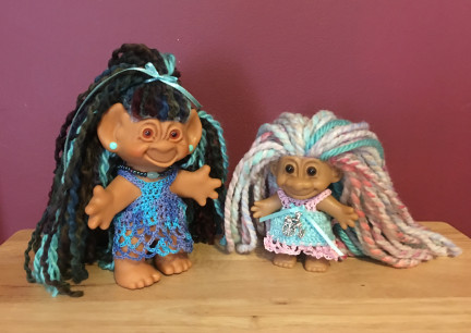 Troll Dolls Fancy Dreads 2019-04-01
