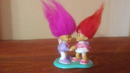 Valentine Day Trolls Set