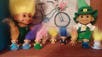 Troll Doll 1 Inch Dresses DIY
