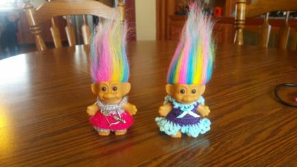 Troll Doll Dresses 2.3 to 3 Inch