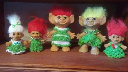 Troll Doll Mossy Look Dresses 2019-02-24