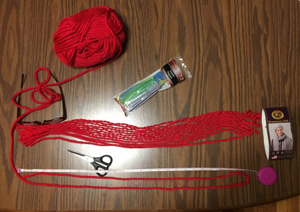 Yarn Strands for Troll Doll Wig 2019-01-27